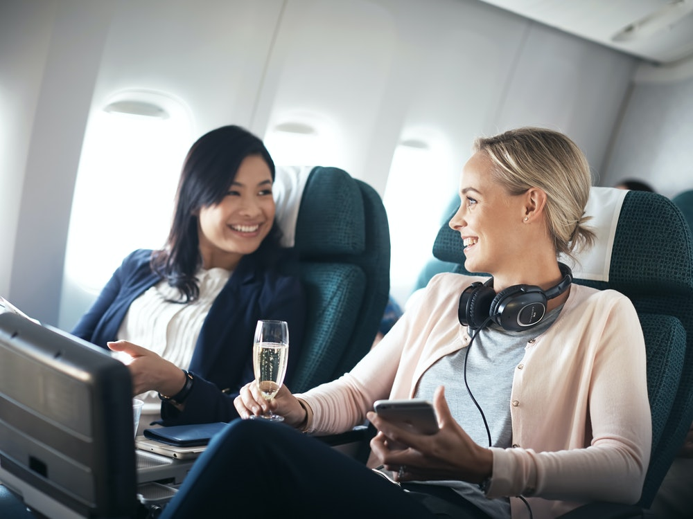 Premium Economy flight | New Zealand holiday