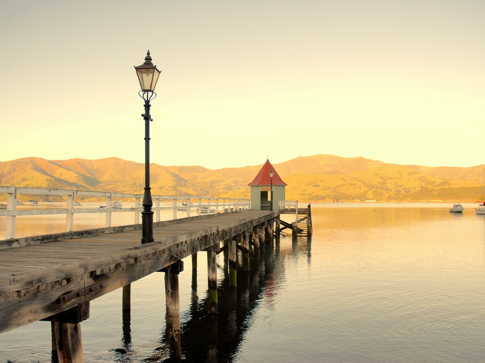 Akaroa lake | New Zealand holiday