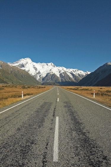 Nz scenic drives roadtrips mount cook road
