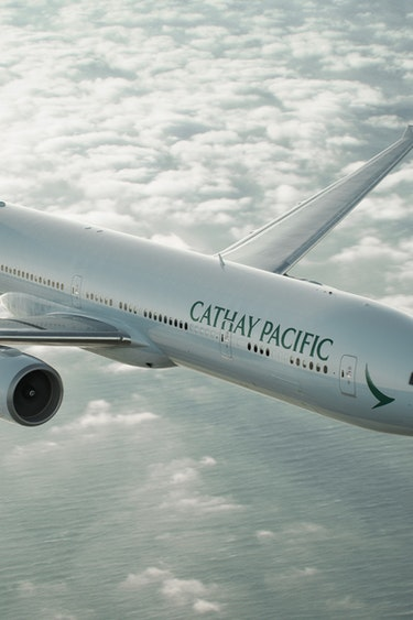 Cathay pacific plane 1