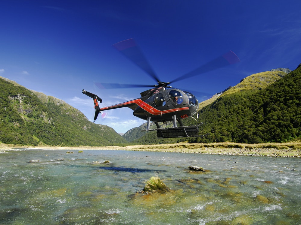 Explore Mount Aspiring National Park on a scenic helicopter flight