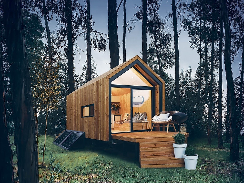 Tiny house surrounded by nature | New Zealand nature