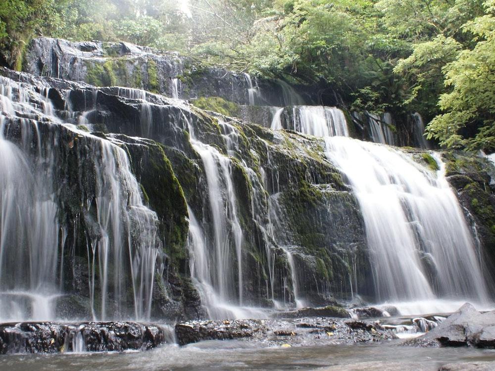 Beautiful waterfalls | New Zealand nature