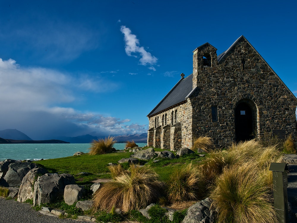Church at Lake Tekapo | New Zealand holiday