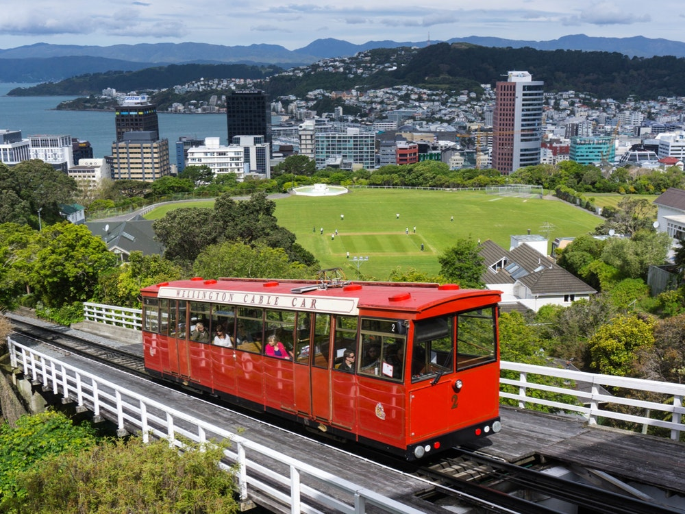 Cable car Wellington | New Zealand holiday