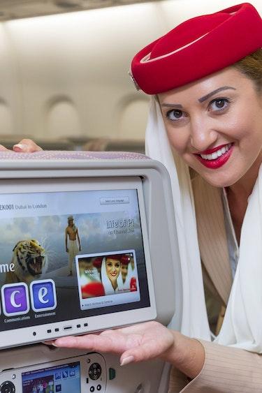 Emirates economy entertainment