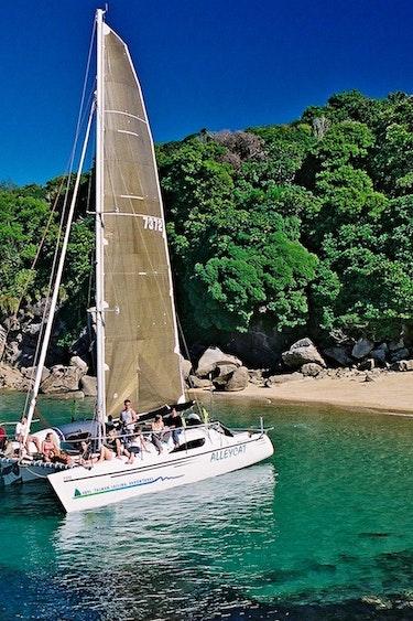 Nz abel tasman sailing example trip