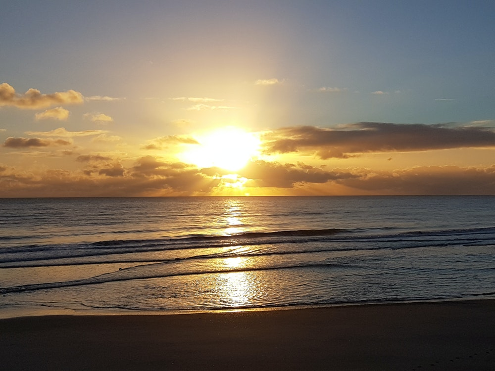 Sunrise on Ohope Beach | New Zealand holiday