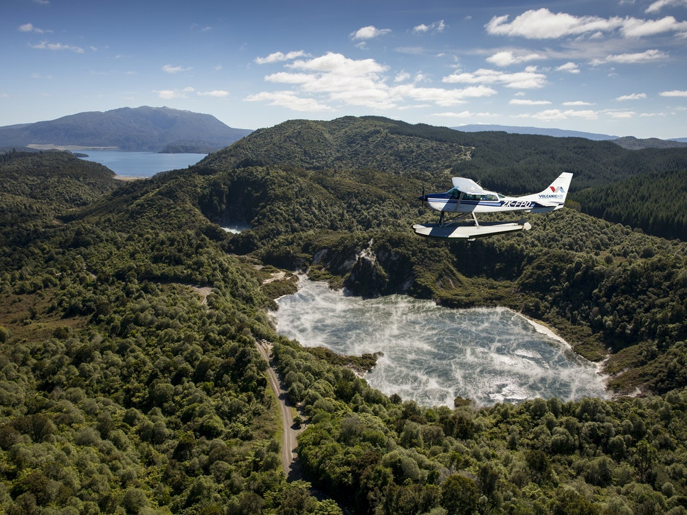Scenic flight | New Zealand holiday