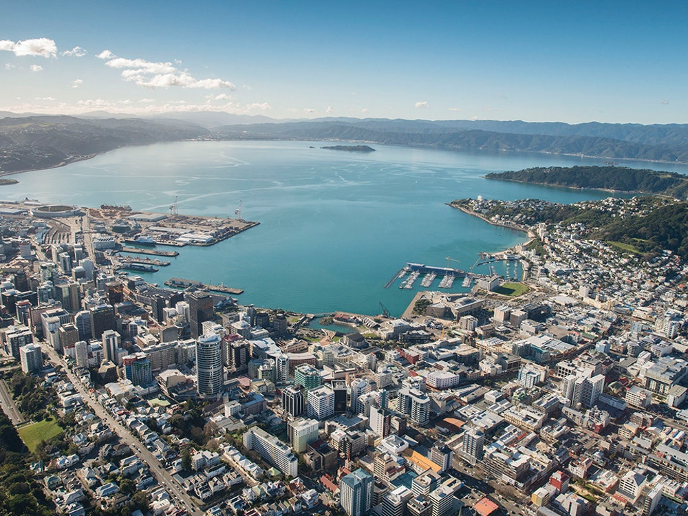 Stunning views over Wellington | New Zealand holiday