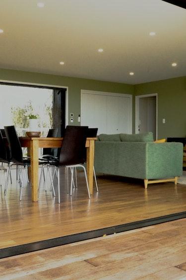 Nz charleston retreat living area family stays very comfortable