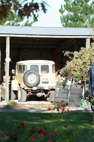 Nz christchurch farm garden family stays comfortable