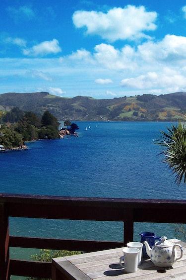 Nz coastal otago kanuka cottage view family comfortable