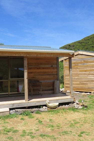 Nz kapiti island cabin nature family stays very comfortable