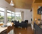 Fully equipped kitchen at your Matakana accommodation | New Zealand holiday