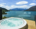 Relax in your spa bath with view | New Zealand holiday