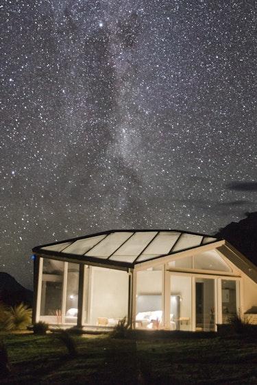 Nz skyscape landscape stars family under5s luxury