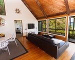 Spacious living room with stunning views | New Zealand holiday
