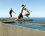 Swimming pool at your accommodation | New Zealand holiday with kids