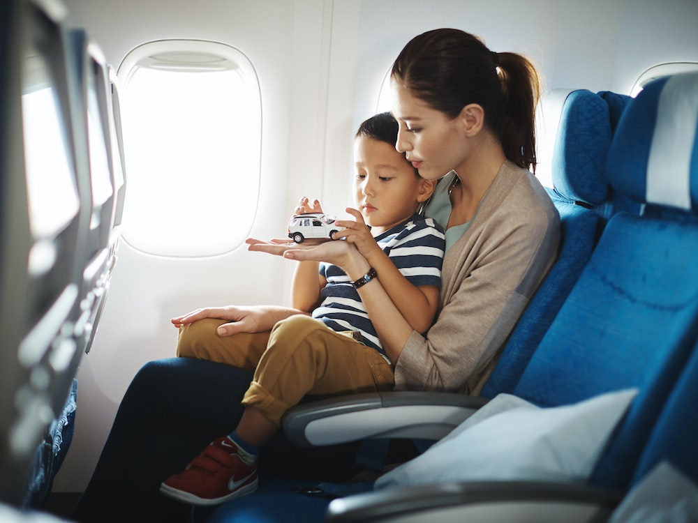 Flying with young kids? We can make sure it's an enjoyable experience