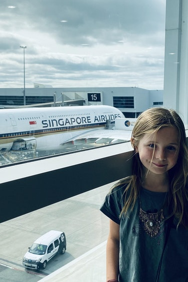 Singapore airlines flights family hannah 3