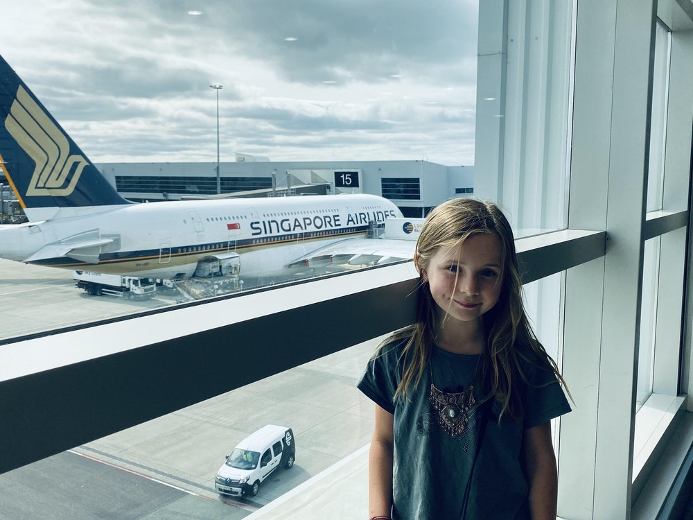 Enjoyable and comfortable flights | New Zealand holiday with kids