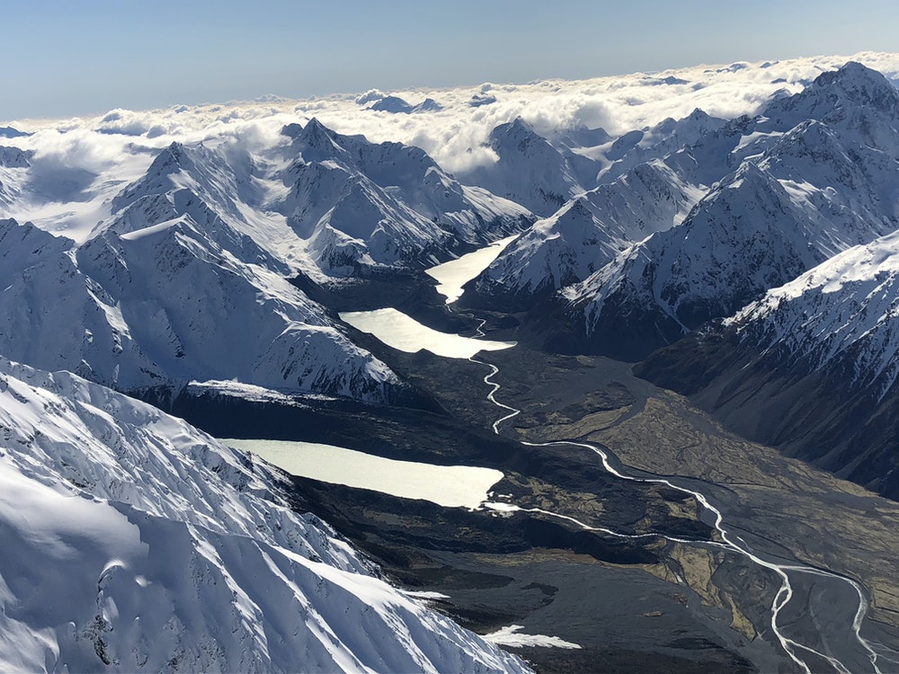 Scenic flight over the mighty Southern Alps | New Zealand holiday