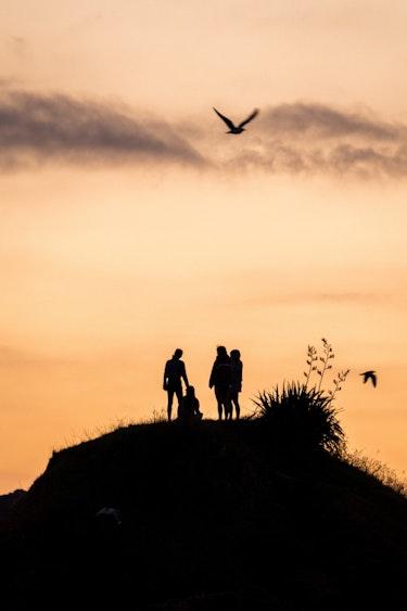 Nz tawharanui family sunset 1 joshua mccormack family primary header