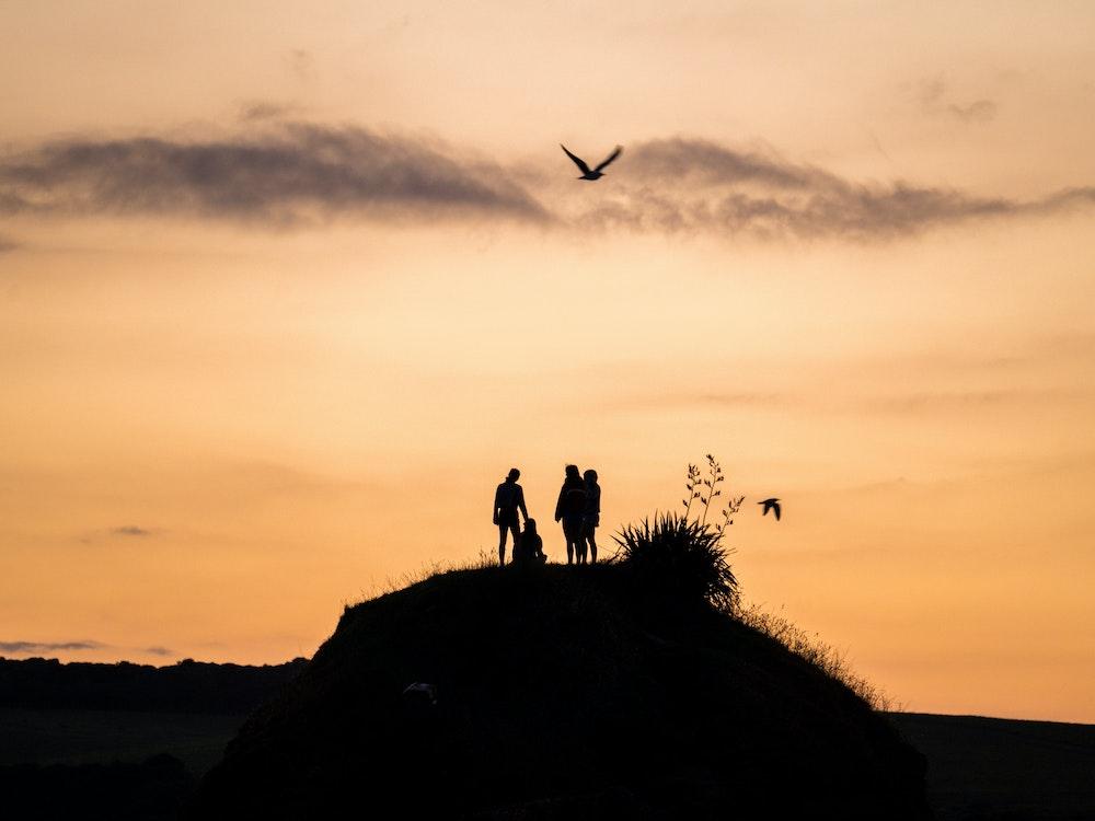 Beautiful sunset | New Zealand holiday with kids