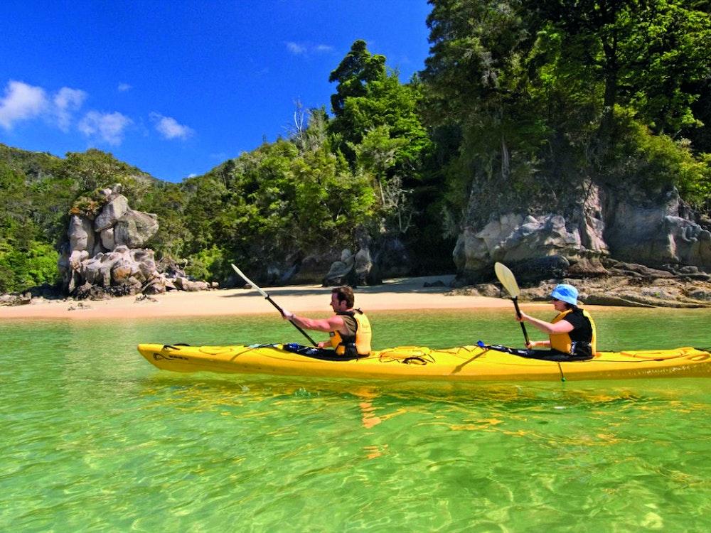 Explore Abel Tasman with a kayak | New Zealand active holiday