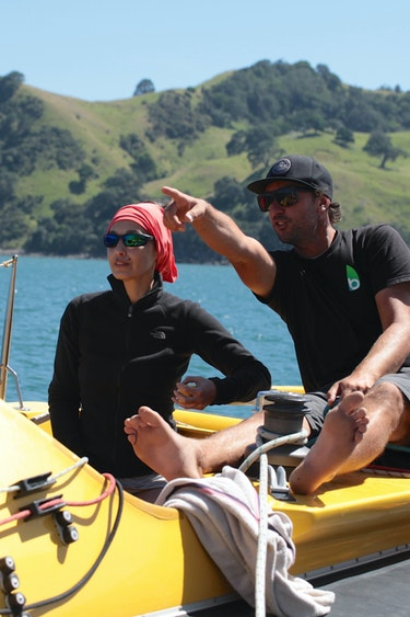 Nz coromandel sailing boat guide family see and do adventurous
