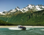 Jet boat in Glenorchy National Park | New Zealand active holiday