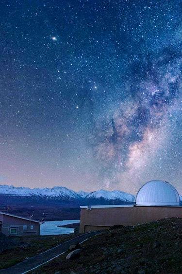 Nz lake tekapo dark sky observatory people family see and do easy going