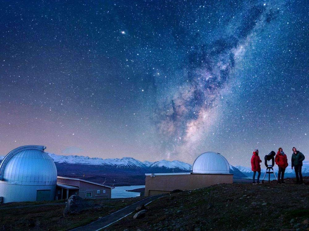 Lake Tekapo sky observatory | New Zealand holiday