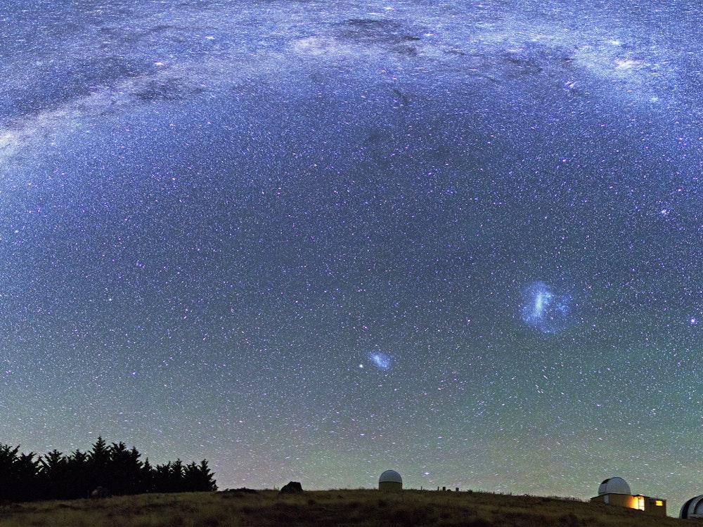 Beautiful skies full of stars in Lake Tekapo | New Zealand holiday