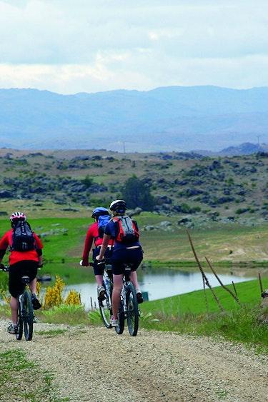 Nz otago rail trail biking family header