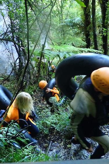 Nz paparoa national park caves tubes family see and do adventurous