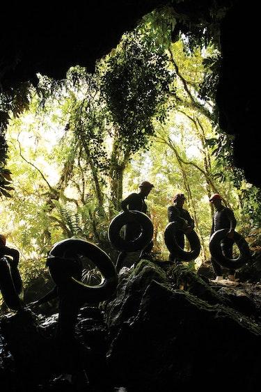 Nz waitomo caves tubes family see and do adventurous