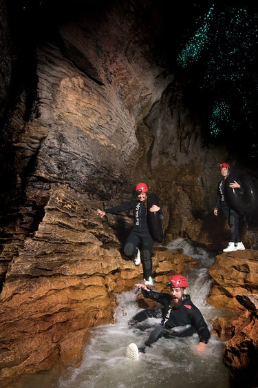 Nz waitomo caves tubes water family see and do adventurous