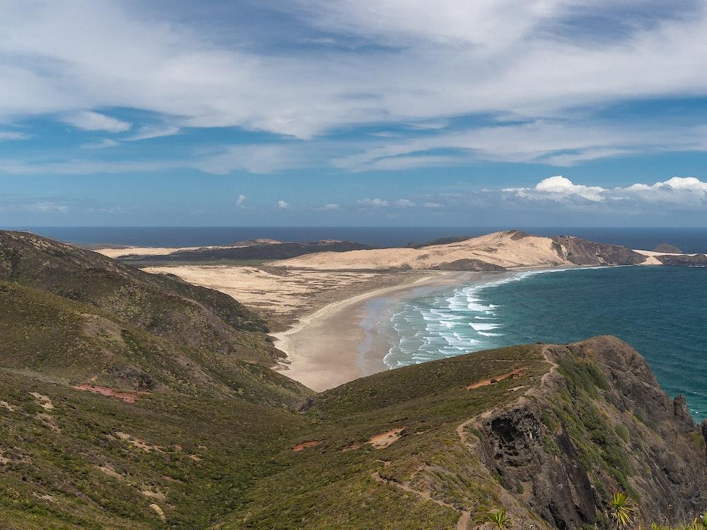 View over Cape Reinga | New Zealand nature