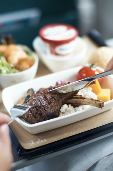Nz cathay pacific meal friends flights premium ecomony