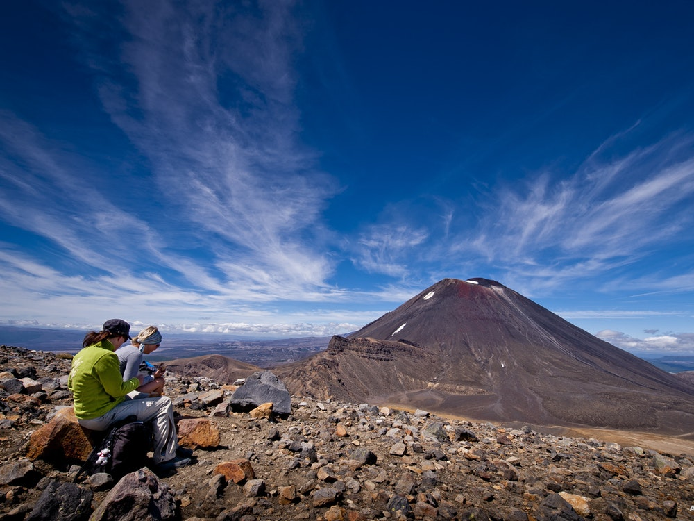 Conquer the Tongariro Alpine Crossing with your friends