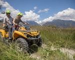 Go quad biking on the South Island's rugged west coast