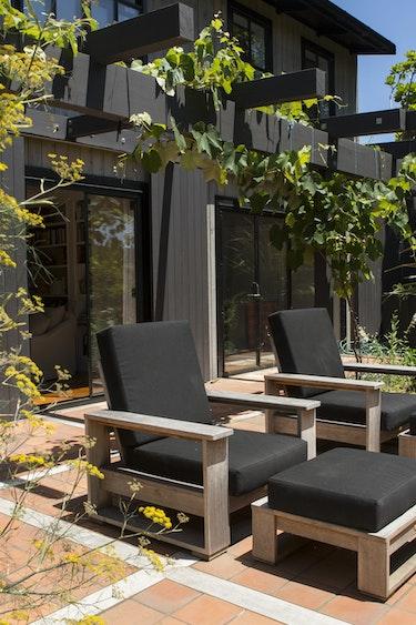 Nz coromandel luxury lodge terrace view friends stays luxury