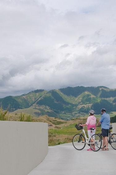 Nz kapiti coast suites nature biking friends stays luxury
