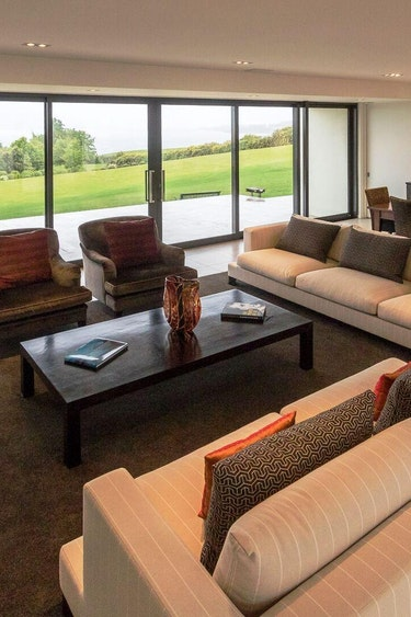 Nz te anau high leys lodge exclusive use of guest wing living room friends very comfortable