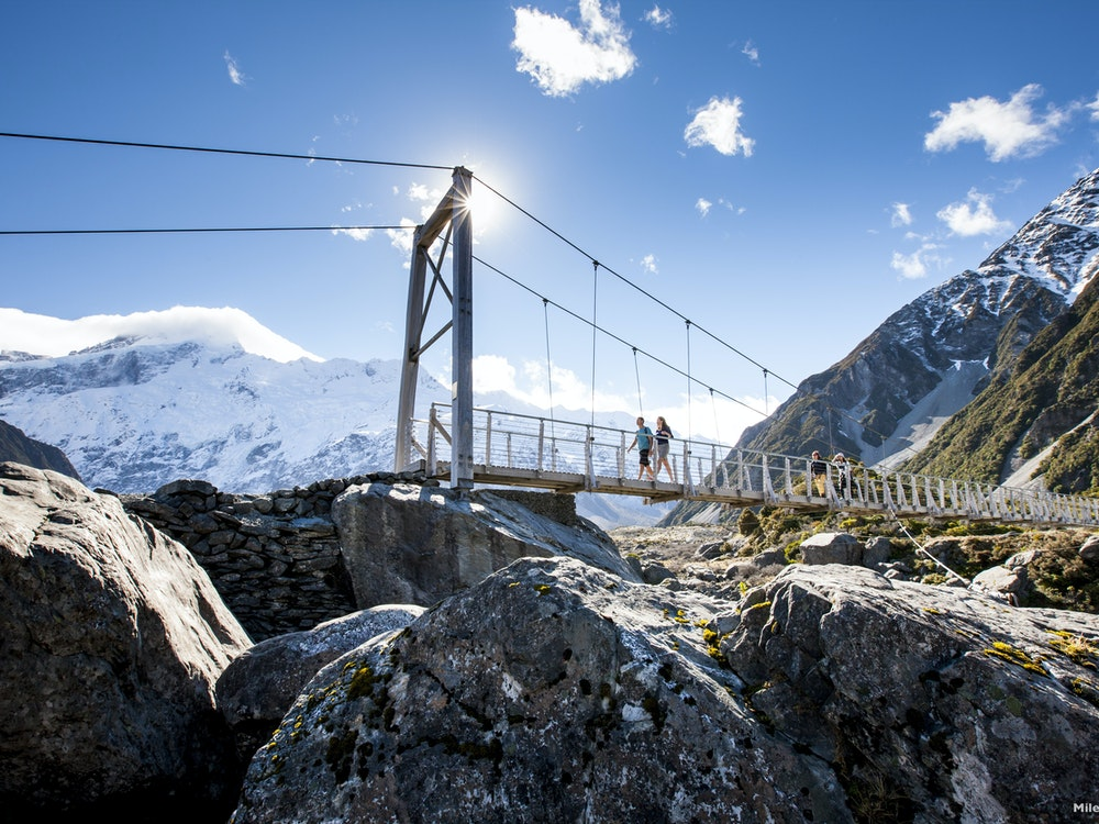 Hike the Hooker Valley Track