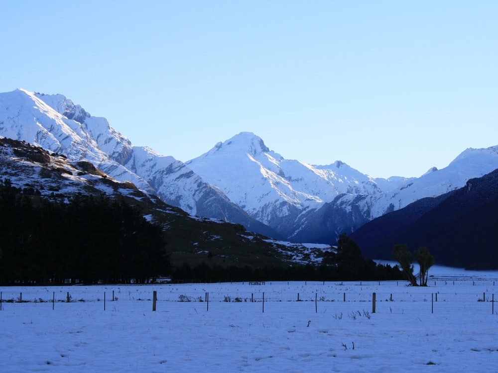 Enjoy a snowy wonderland while travelling New Zealand in the winter