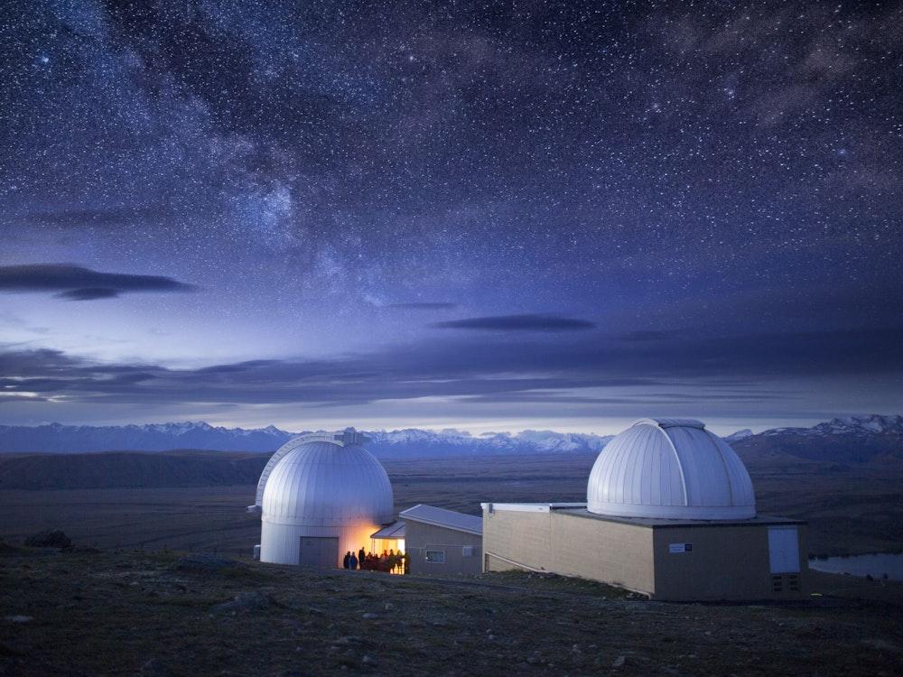 Stargaze in Lake Tekapo's spectacular dark sky reserve