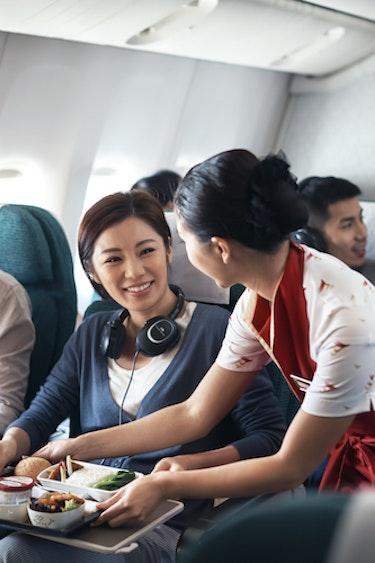 Nz cathay pacific partner flights premium economy2